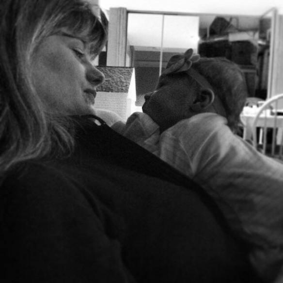 Nana cuddles